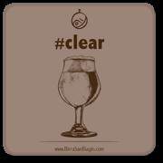 Sottobicchere Clear