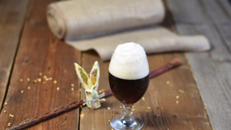 birra artigianale pasqua bicchiere