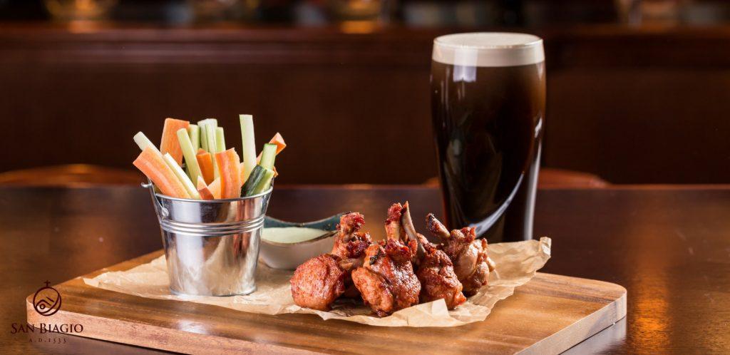 bocconcini di pollo alla birra