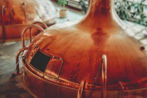 chimica della birra fabbrica
