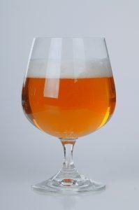 birra come bomboniera bicchiere