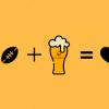 birra dopo lo sport bicchiere