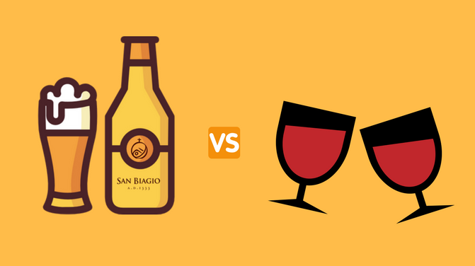 birra-vs-vino-bottiglia-e-bicchieri