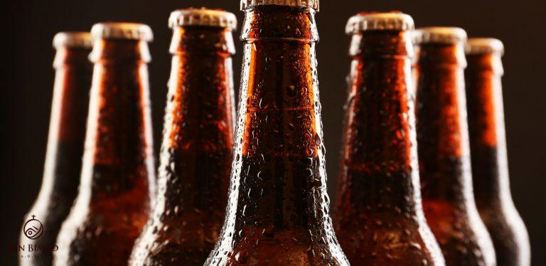 perché le bottiglie di birra sono scure bottiglie