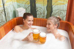spa alla birra bagno
