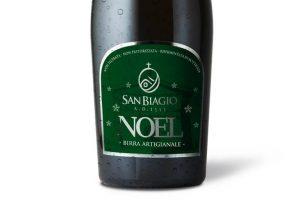 bottiglia di birra noel edizione 2018