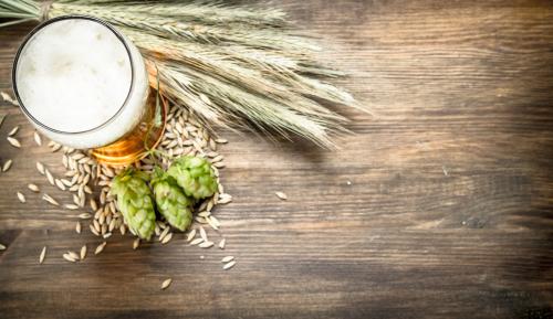 birra come alimento luppolo